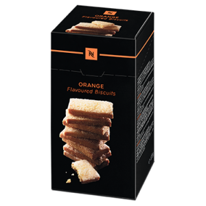 Orange flavoured biscuits