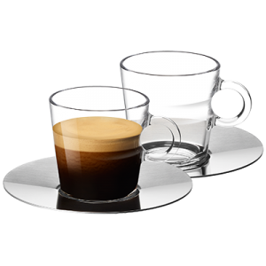 VIEW Collection 2x Lungo Cups and Saucers Set